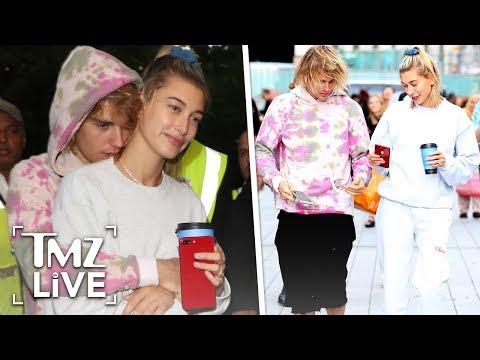 Justin & Hailey Bieber Getting Hitched Again! | TMZ Live