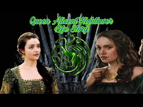 Queen Alicent Hightower Life Story । Game Of Thrones Prequel