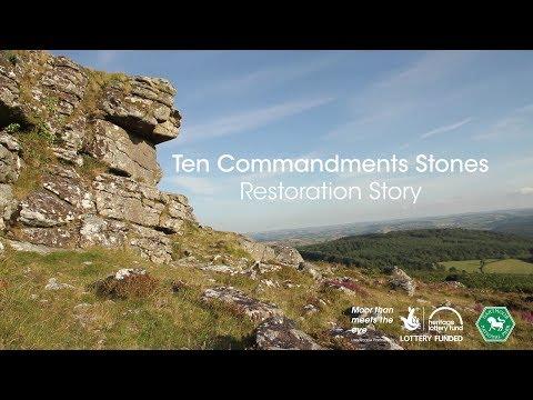 Ten Commandments Stones: Restoration Story