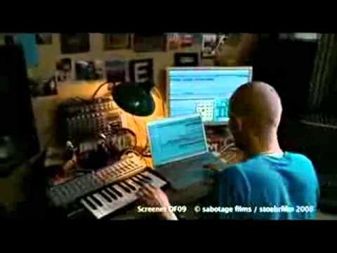 "Paul Kalkbrenner recording ""Train"" Berlin Calling"