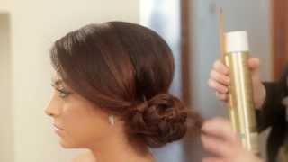 Braided Side Chignon - Julianne Kaye Thumbnail