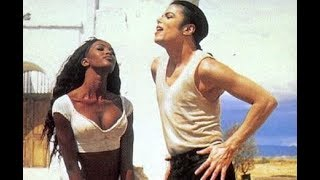 Michael Jackson Naomi Campbell In The Closet Backstage