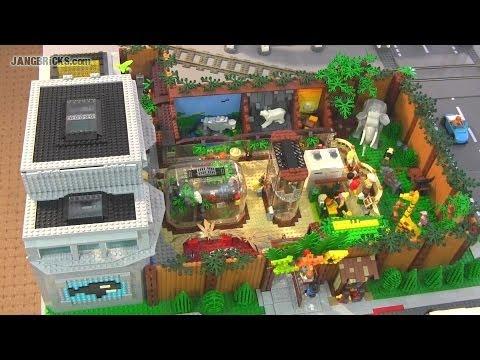 LEGO Zoo & Aquarium with 75+ animals!