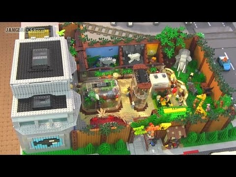 LEGO Zoo & Aquarium with 75+ animals