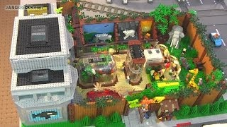 Lego Zoo & Aquarium With Over 75 Animals!