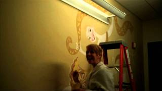 Tangled: Disney Art Department Wall Mural