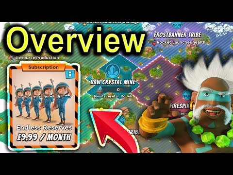 NEW Update OVERVIEW | Dr Kavan, Tribes, Basebuilder and New Subscription | Boom Beach