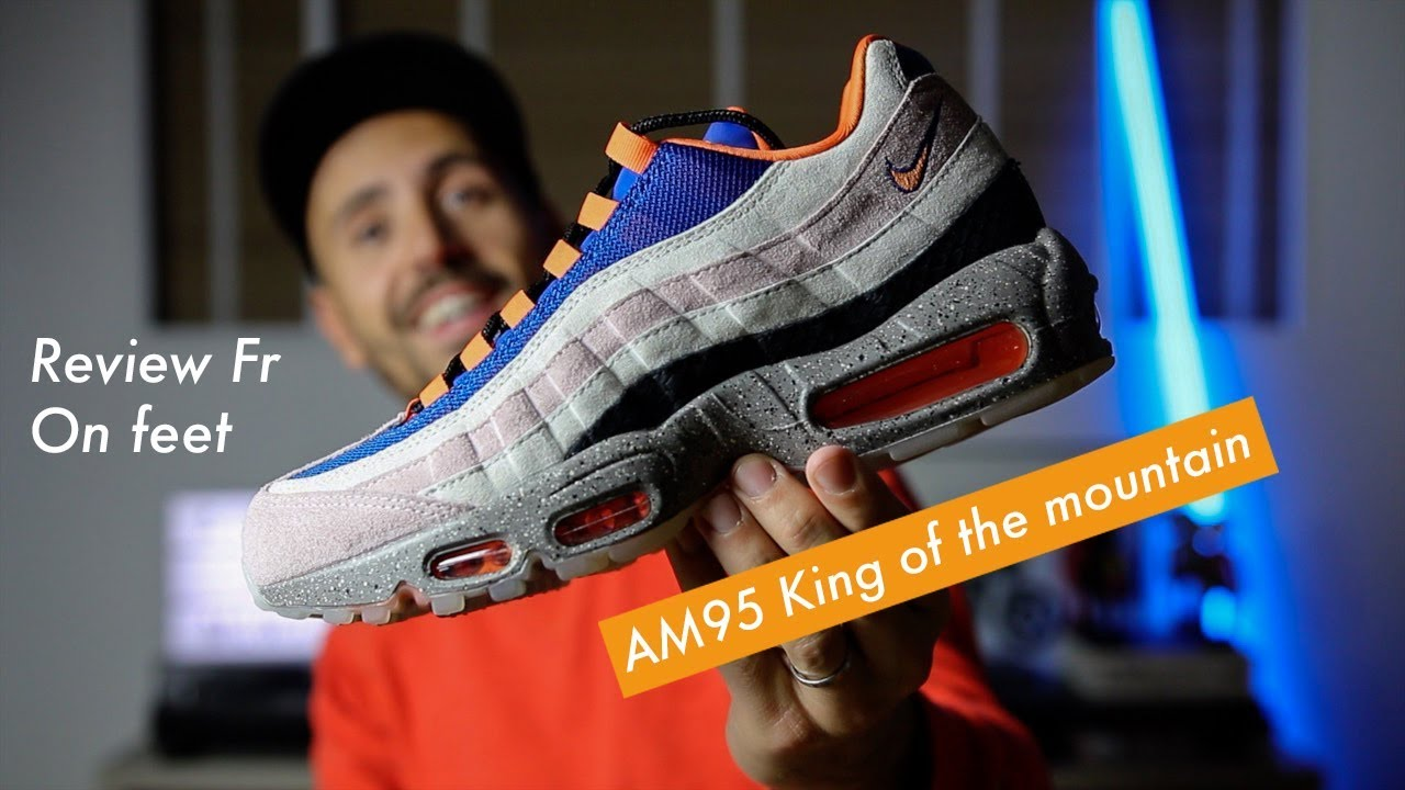 como el desayuno fantasma Búsqueda  Nike Air Max 95 King of the mountain Review! Vous sentez ce parfum d'ACG?!  💥 - YouTube