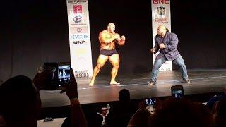 Big Ramy vs Kai Greene (Guest Posting- NY Metropolitan 2016)