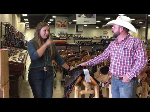 Circle Y and Reinsman Saddles Product Review - YouTube