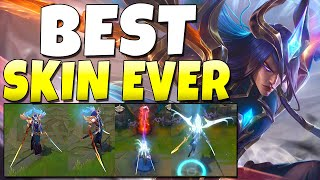 THIS IS THE BEST SKIN IN LEAGUE OF LEGENDS!! Dawnbringer Yone Gameplay