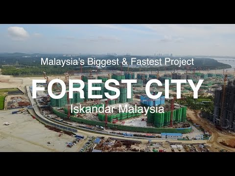 Forest City @ Iskandar Malaysia - Malaysia Biggest & Fastest Project - 21.11.2017