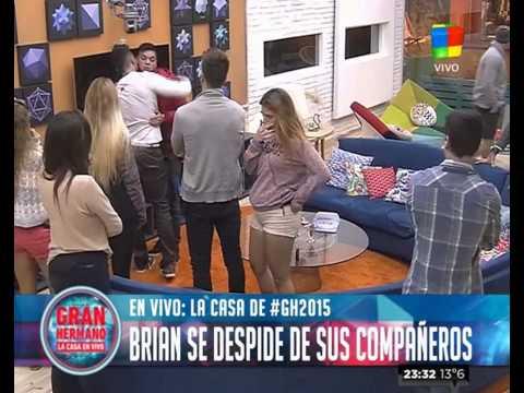 Brian: Me duele tener que irme así