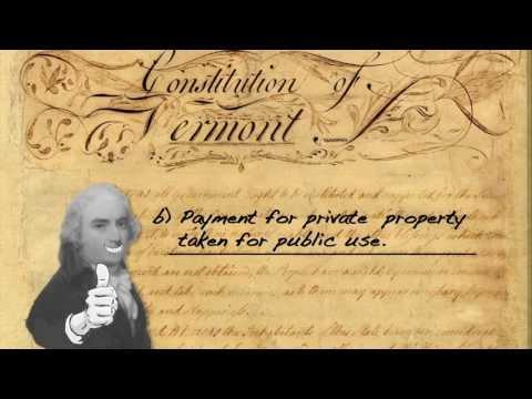 The Vermont Constitution Quiz 3 of 3