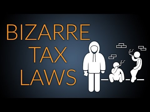 Bizarre Taxes from Around The World