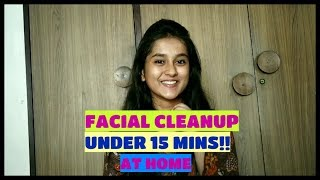 Facial Cleanup At Home |SKINCARE| |SUMMERS SPECIAL|