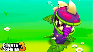 Plants vs. Zombies 3 - Gameplay Walkthrough Part 37  - Chomper VS Gargantuar BOSS !