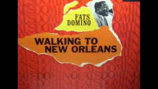 Walking To New Orleans   Fats Domino 1960 Original Underdub