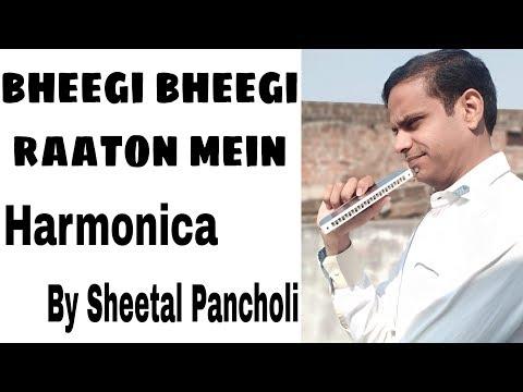 Bheegi Bheegi Raaton Mein Harmonica by Sheetal Pancholi
