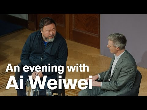 An Evening with Ai Weiwei