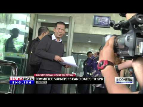Indonesian Constitutional Court Submits List of 15 Candidates to KPK