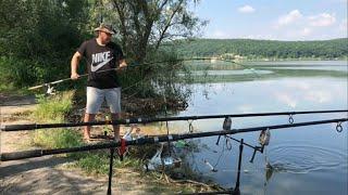 Старый Салтов Рыбалка в Харьковской области Ловлю Леща и плотву