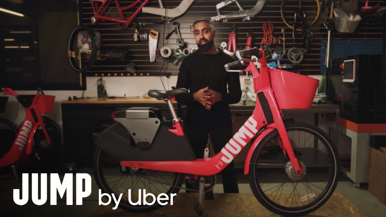 SuperSaf Rides and Reviews a JUMP Bike | Uber