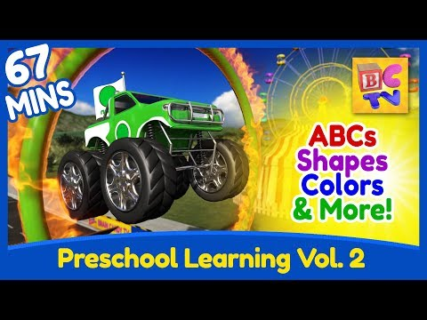 Preschool Learning Compilation | Vol 2 | Shapes, Colors Math and More!