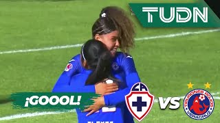 ¡Ya es goleada celeste! | Cruz Azul 3 - 0 Veracruz | Liga Mx femenil - AP 19 - J 14 | TUDN
