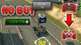 Tanki Online Road to Legend #3 | M3 FOR 0 CRYSTALS!? | Танки Онлайн