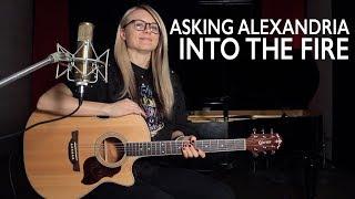 Скачать Как играть ASKING ALEXANDRIA INTO THE FIRE Acoustic на гитаре разбор и аккорды
