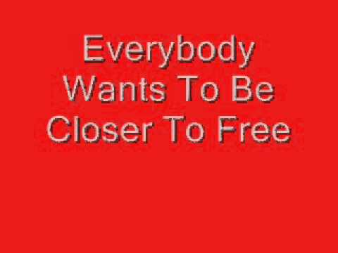 Bodeans Closer To Free