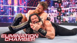 "Daniel Bryan shocks Roman Reigns with ""Yes!"" Lock: WWE Elimination Chamber (WWE Network Exclusive)"