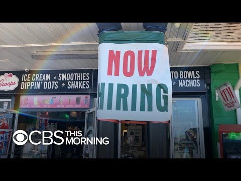 Businesses say they're having trouble finding workers as economy opens