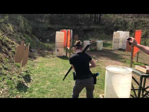 Indiana Multigun Stage 4 at the Bend of the River Conservation Club 4/15/2017