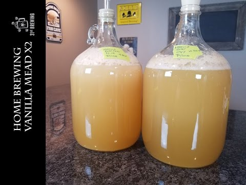 Vanilla Bean Mead Making and Test