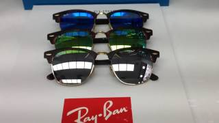 RAY BAN CLUBMASTER RB 3016 114530 51
