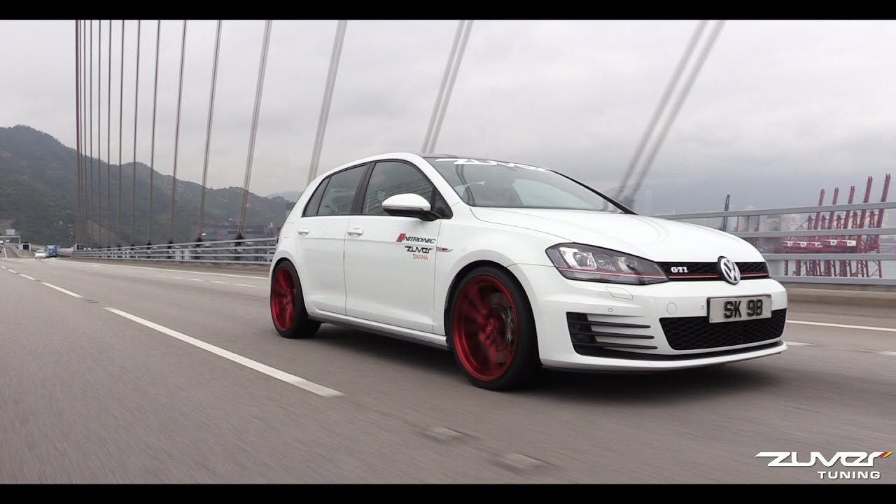 vw golf gti 7 st rme powered by zuver tuning youtube. Black Bedroom Furniture Sets. Home Design Ideas