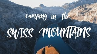 is this the greatest camping spot in Switzerland? // higher ground