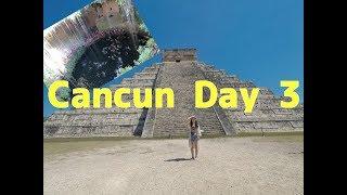 Cancun Day 3 メキシコ、カンクン旅行最終日。チチェンイッツァとグランドセノーテ