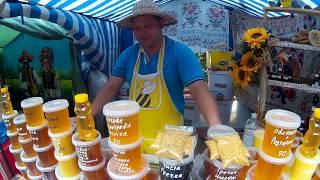 Ярмарка Мёда в Киево-Печерской Лавре 2017. Где Купить Настоящий Мёд?