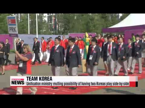 Possibility mulled of two Koreas representing one team at Asian Games