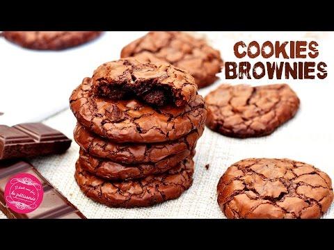 les-cookies-brownies-au-chocolat,-recette-facile,-rapide-et-délicieuse-!!