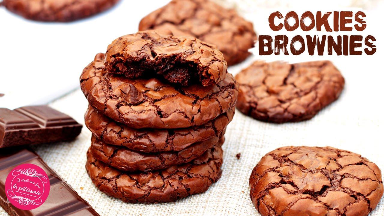 Les Cookies Brownies Au Chocolat Recette Facile Rapide Et