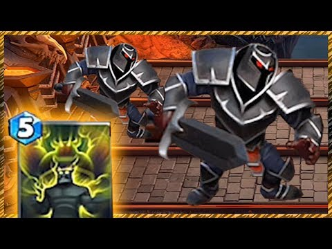 Castle Crush Black Knight + Giant Growth Maxed Out!