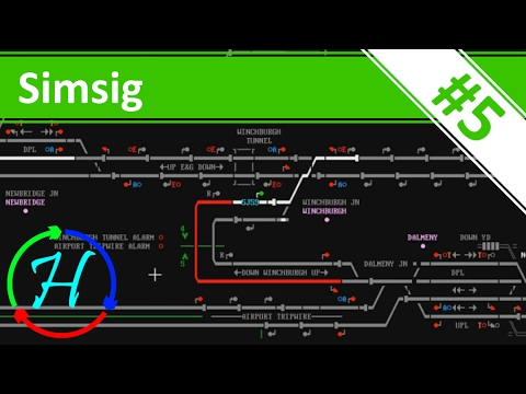 Working Diversion! - Ep.5 - Edinburgh - Simsig - Railway Signaller Simulator