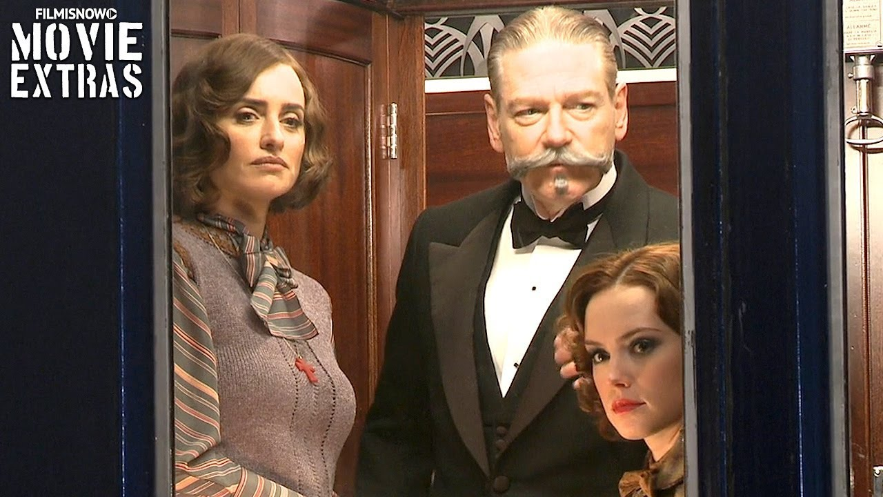 Go Behind The Scenes Of Murder On The Orient Express 2017 Youtube