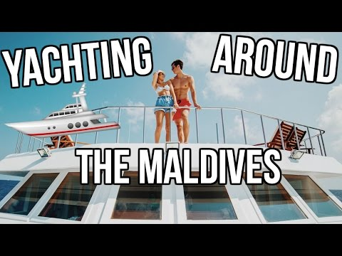 YACHTING AROUND THE MALDIVES!