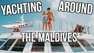 YACHTING AROUND THE MALDIVES!