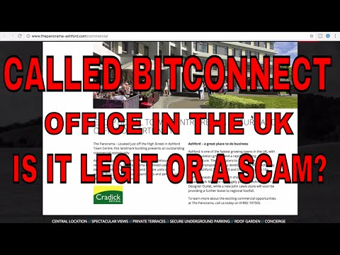 We Called Bitconnect Office In UK! Find Out Is It A Real Company or Scam
